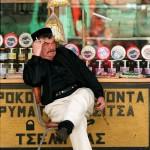 Griekenland Markt Koopman