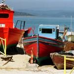 Griekenland vissersboot