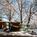 Griekenland sneeuwlandschap