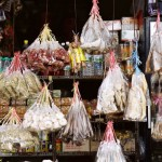 chinese kruidenwinkel op Sarawak