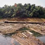 longboat op Sarawak