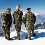 Zwitserland Militairen