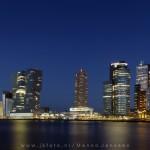 Kop van Zuid avond Rotterdam