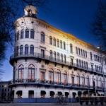 Wereldmuseum avondschemering