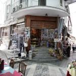 Cyprus Straat Kranten kiosk