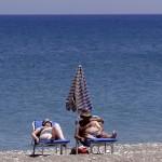 Cyprus Strand Middellandse Zee